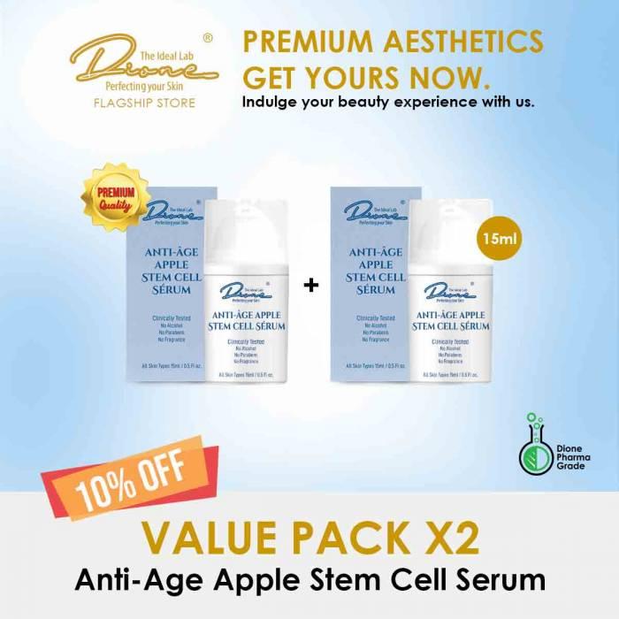 Anti-Age Apple Stem Cell Serum,15m value pack