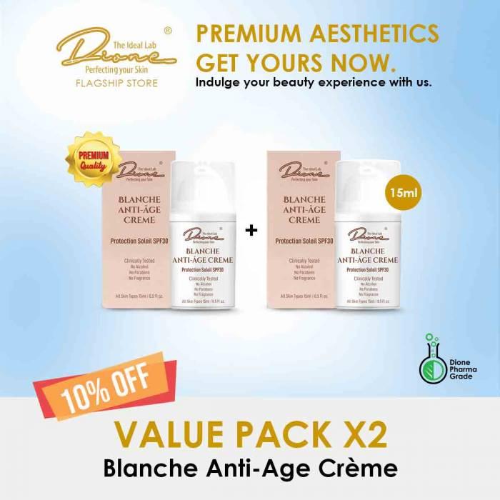 Blanche Anti-Age Crème,15ml value pack