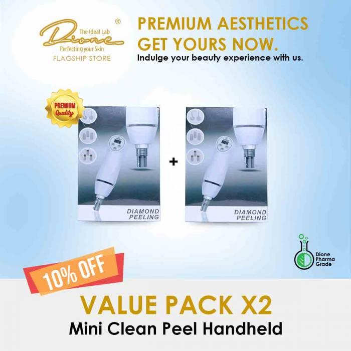 Mini Clean Peel Handheld Device value pack