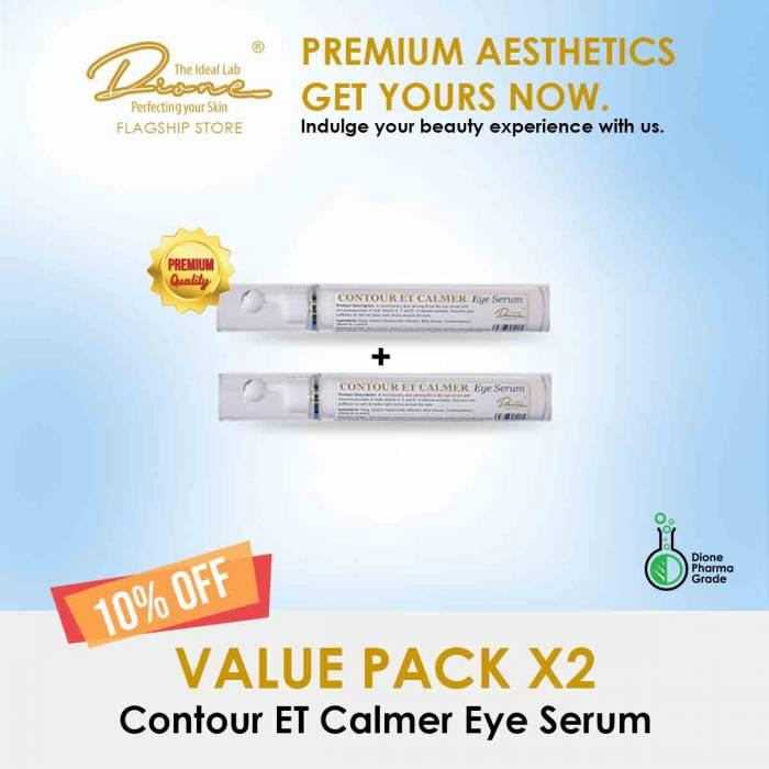 Contour ET Calmer Eye Serum, 15ml value pack