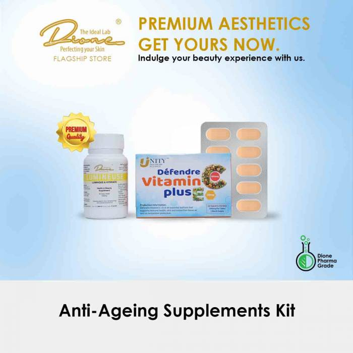 Anti-Ageing Supplements Kit