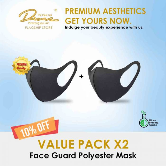 Face Guard Polyester Mask value pack