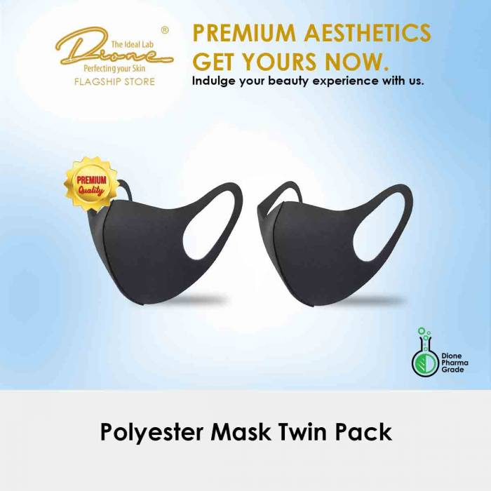 Polyester Mask Twin Pack
