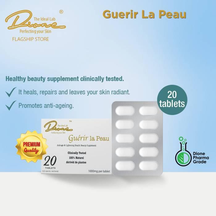 DTIL Guerir la Peau Supplement, 20 Tablets per box