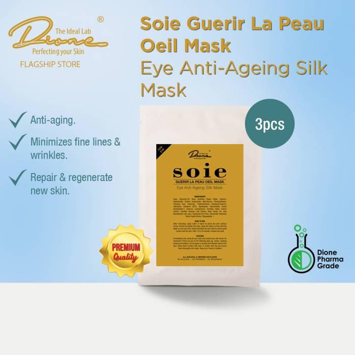 DTIL Soie Guerir La Peau Mask(Eye), 3 pieces per box
