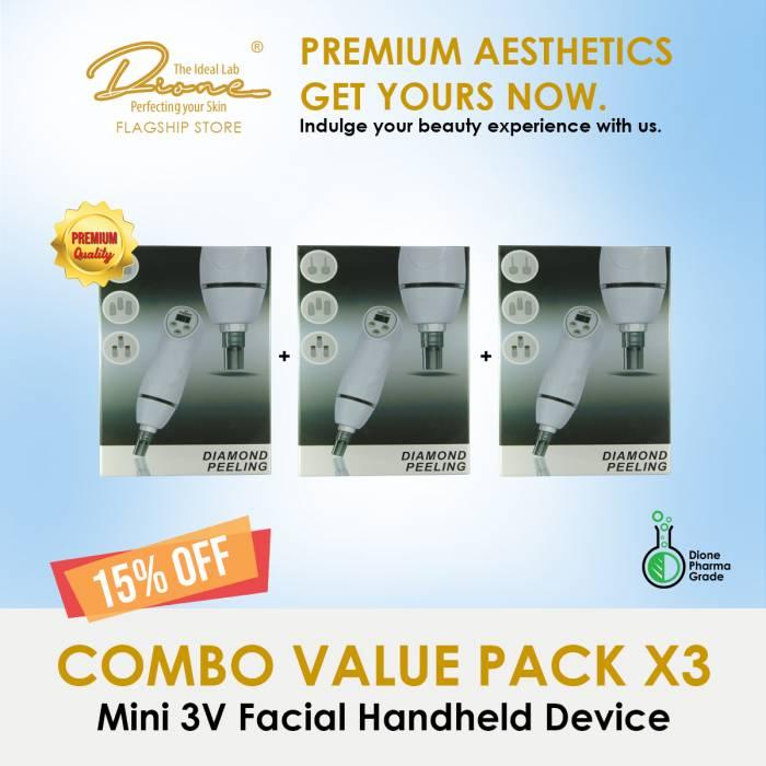 Mini 3V Facial Handheld Device Combo value pack
