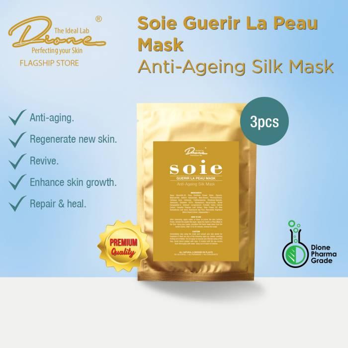 DTIL Soie Guerir La Peau Mask, 3 pieces per box